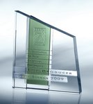 Chroma Green Optical Crystal Award