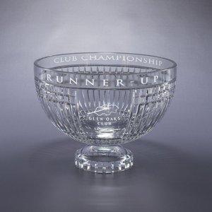 Vista Full Lead Crystal Award Bowl - LG