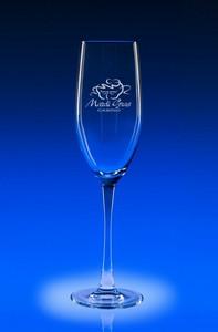8oz. Lyrica Engraved Champagne Flute