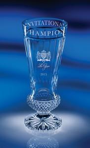 Aristides Cup Full Lead Crystal Award- LG