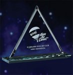 Optic Crystal Pyramid Award  - SM