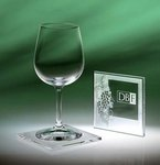 Abella Wine Glass Coaster