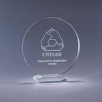 Optic Crystal Corona Award  - SM