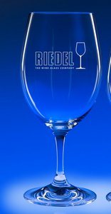 Riedel Ouverture 18.75oz.Magnum Engraved Wine Glass