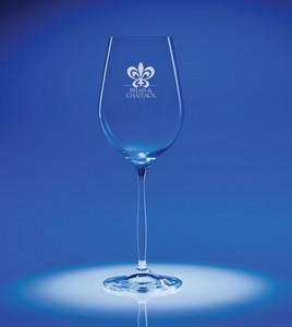 Bella White Wine Engraved Glass