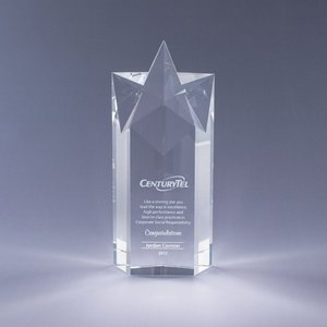 Rising Star Award  - LG - Base not included