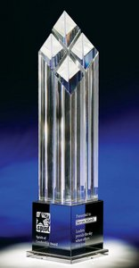 Rhombus Iv Optical Crystal Award