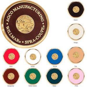 Round Brass Coaster Weight Coasters