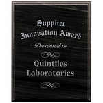 Black Marble Plaque - 8in. x 10in.