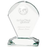 Geodesic Optical Crystal Award- Small