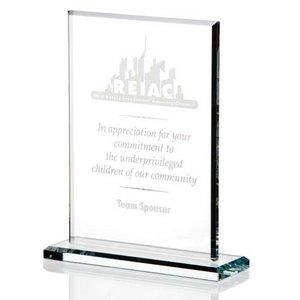 Vertical Gem Cut Award - Large
