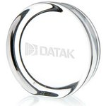 Round Paperweight with Flat Edge