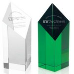 Spectra Pillar Crystal Award 7-1/2in.