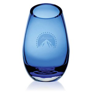 Cairo Blue Vase - Large