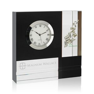 Color Block Crystal Clock