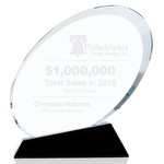 Ovate Optical Crystal Sales Award - Large
