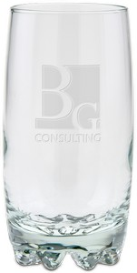 14 oz Deep Etched Galassia Beverage Glass
