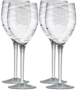 Four piece Romantica Red Wine Glass Gift Set