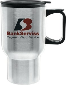 Super Saver DW Stainless Steel Tapered Travel Mug
