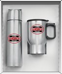 Two Piece Stainless Steel City Super Saver Gift Set