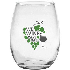 Stemless White Wine Glass 15 oz.