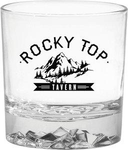 Glacier On the Rocks Glass
