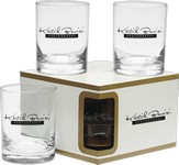 Executive Double Old Fashion Glasses - Premium Set 14 oz.