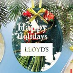 Glass Ornament with Full Color Imprint -Oval