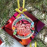 Glass Ornament with Full Color Imprint -Square
