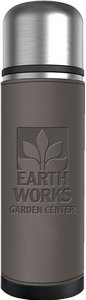 Regency Insulated Thermos 17 oz. (Optional Leatherette Sleeve)