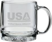 12 oz. Mug America - Deep Etched