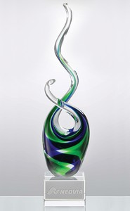 Tropical Splash Glass Art Award