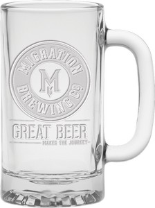 16 oz Deep Etched Brewmaster Tankard