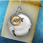 Jingle Ball Holiday Ornaments with Logo Dangler