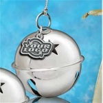 Jingle Ball Holiday Ornaments with Pewter Dangler
