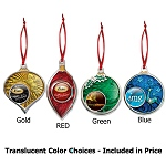 Festive Dazzler Holiday Ornaments-Christmas Tree