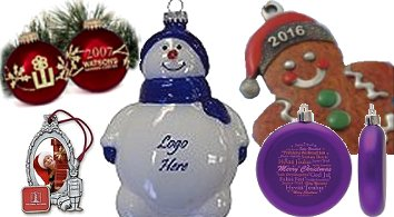 Company Christmas Ornaments