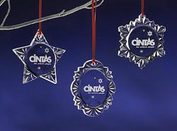 Custom Logo Christmas Ornaments  Personalize Logo Suncatchers