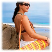 Personalized Beach Blanket Portable Beach Mat- easy carry