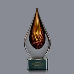 Barcelo Award on Black Base - 10 in  Medium