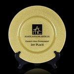 Granby Award Plate   - 11 in. Gold