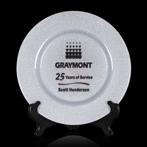 Granby Award Plate  - 11 in. Silver