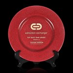 Granby Award  Plate - 11 in. Red