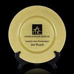Granby Award Plate  - 13 in. Gold