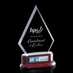 Tripoli Award Jade Award on Rosewood Base 8?in