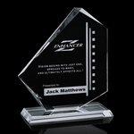 Eastgate Award - Jade Glass Award 7.5 in.