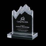 Kilimanjaro Mountain Award - Jade 11in.