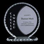 Corona Jade Crystal Award 6 in.