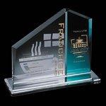 Chamberlain Award - Starfire/Blue 9 in.x10 in.