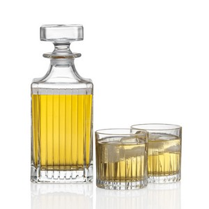 Bacchus Decanter and 2 On-the-Rocks